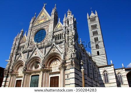 Church Siena Italy - stock photo