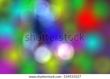 3D Abstract and Bokeh for background - stock photo