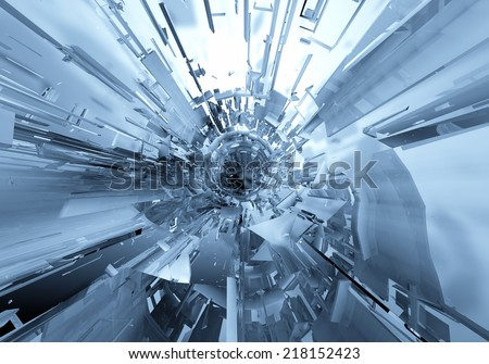 3d abstract background - stock photo