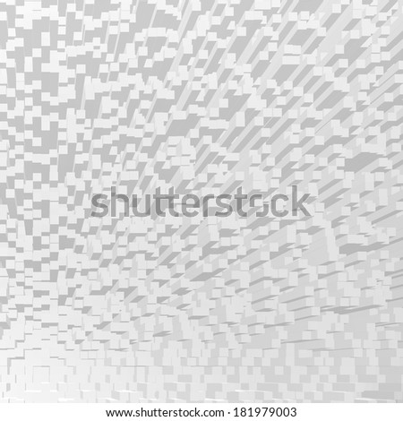 3d abstract background cube pattern - stock photo