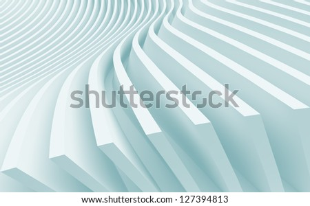 3d Architecture Background - stock photo