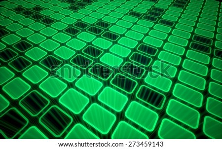 3D. Backgrounds, Technology, Abstract. - stock photo