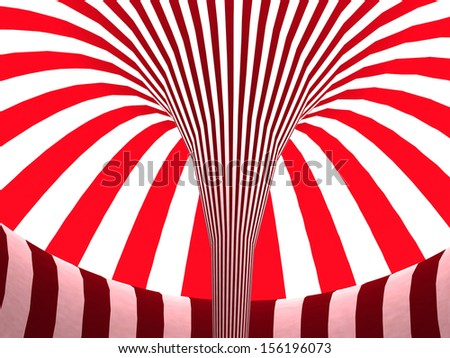 3d bright abstract striped background - stock photo