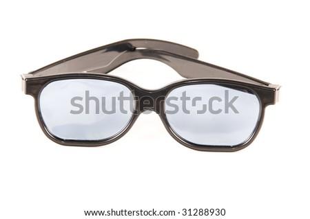 3D Cinema Glasses - stock photo