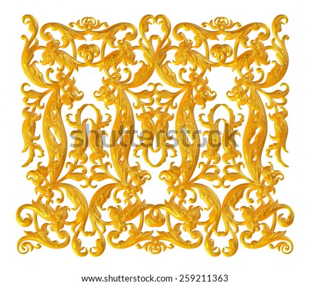 3D embossed ornament background pattern. - stock photo