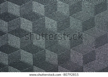 3D Nylon texture - stock photo