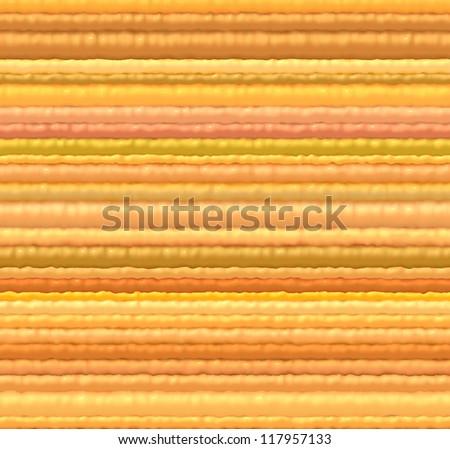 3d orange yellow cloth fiber backdrop render from close - stock photo