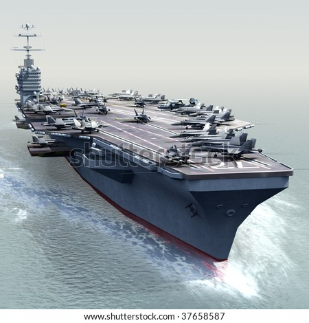 Aircraft Carrier Stock Photos, Illustrations, and Vector Art