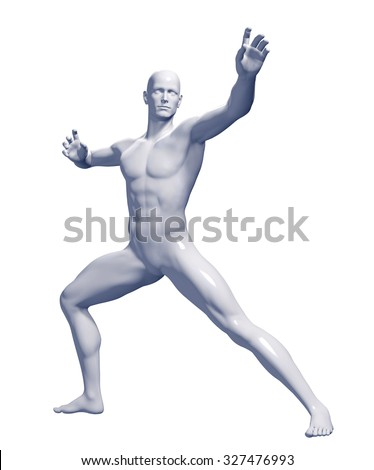 3d rendered illustration of a male  - stock photo