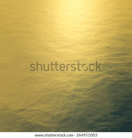 3d rendering ice background in golden light. - stock photo