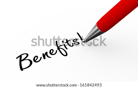 3d rendering of pen writing thank you on paper - stock photo