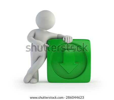 3d small people - download - stock photo