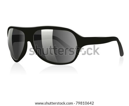 3D Sun Glasses 02 - stock photo