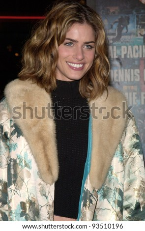 "16DEC99: Actress AMANDA PEET at the world premiere, in Los Angeles, of Oliver Stone's  ""Any Given Sunday"" which stars Al Pacino & Cameron Diaz.  Paul Smith / Featureflash - stock photo"