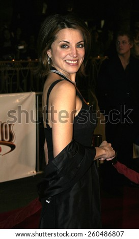 16 December 2004 - Hollywood, California - Alana Ubach. The premiere of 'Meet The Fockers' at the Universal Amphitheatre Universal Studios in Hollywood.  - stock photo