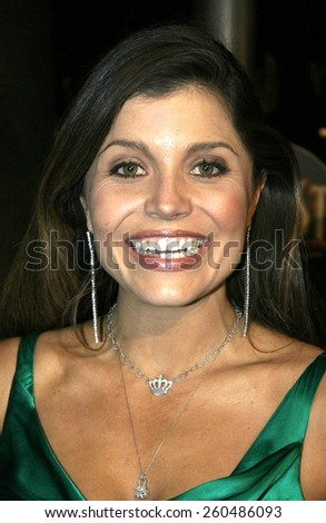 16 December 2004 - Hollywood, California - Mindy Burbano-Stearns. The premiere of 'Meet The Fockers' at the Universal Amphitheatre Universal Studios in Hollywood.  - stock photo