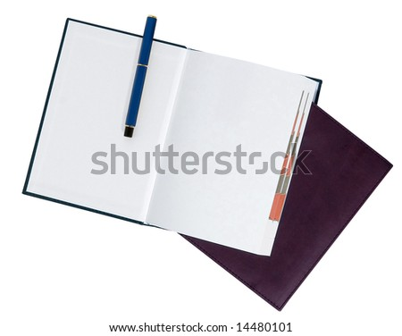 2009 diary/planner - stock photo