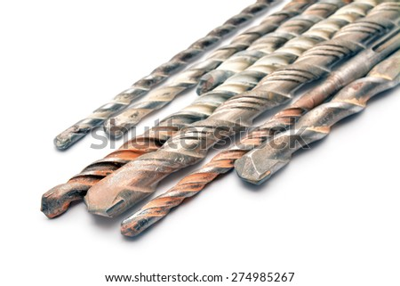 drill bits  - stock photo