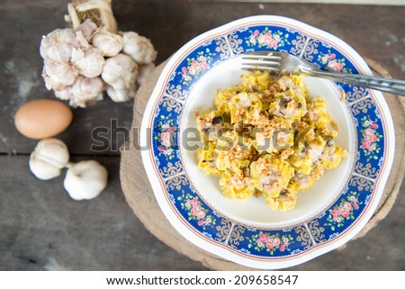 dumplings set - stock photo