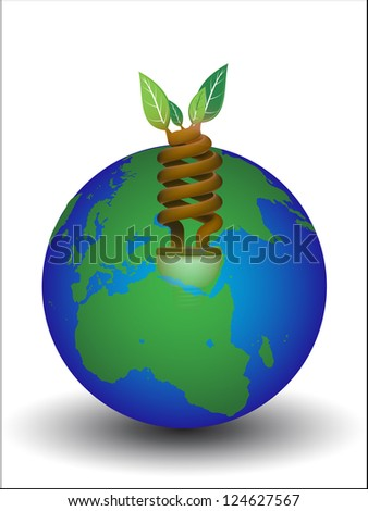 ECO tree - stock photo