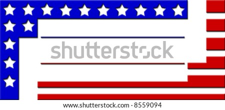 2008 election campaign bumper stickers to get out the vote - stock photo