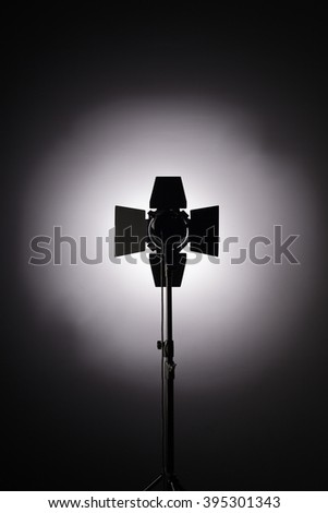 Equipment for photo studios and fashion photography. Background - stock photo