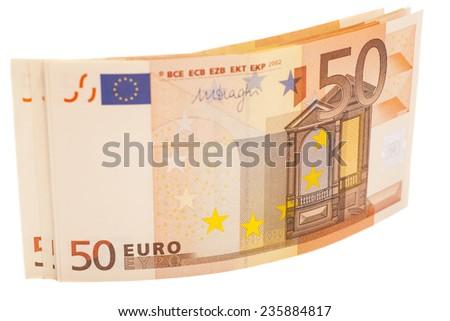 50 Euro  - stock photo