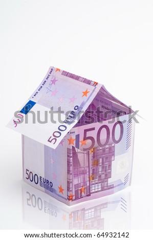 500 euro - stock photo