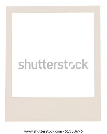 film blank ,isolated on white with clipping path - stock photo