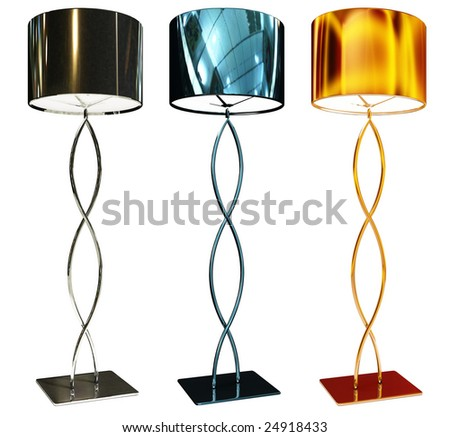 flor-lamp - stock photo