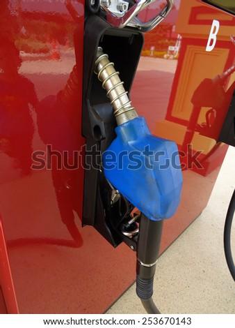 fuel pump                              - stock photo