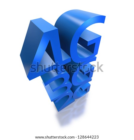 4G networks replaces 3G and previous technology in connecting mobile devices on white background - stock photo