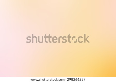 Gradient soft blurred abstract background for your design. Yellow golden color