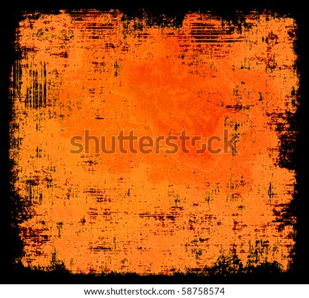 Halloween Colors Grunge Background - stock photo