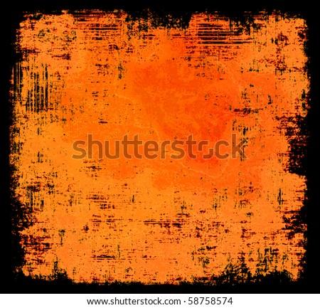 Halloween Colors Grunge Background - stock photo
