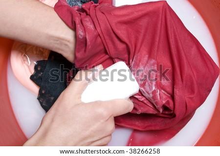 Hand wash - stock photo