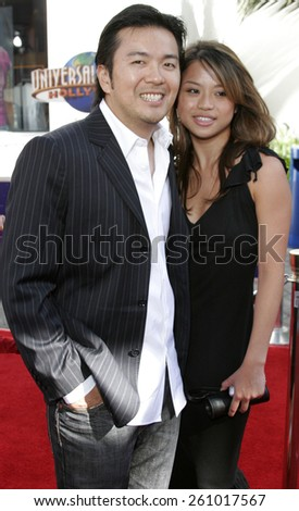 "06/04/2006 - Hollywood - Justin Lin attends the Los Angeles Premiere of ""The Fast and the Furious: Tokyo Drift"" held at the Universal Studios in Hollywood, California, United States.  - stock photo"