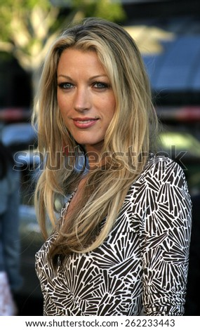 "04/04/2005 - Hollywood - Natalie Zea at the ""Sahara"" Premiere at the Grauman's Chinese Theater. - stock photo"