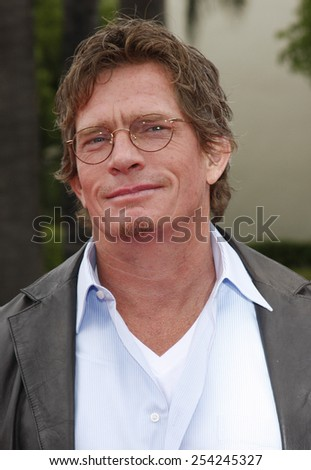 """6/6/2009 - Hollywood - Thomas Haden Church at the Los Angeles Premiere of """"Imagine That"""" held at the Paramount Studios Lot in Hollywood, United States.  - stock photo"""