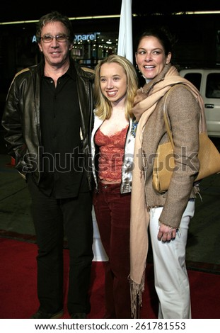 """03/23/2005 - Hollywood - Tim Allen at the """"Miss Congeniality 2: Armed and Fabulous"""" Premiere at the Chinese Theatre. - stock photo"""