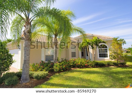 Home in Florida - stock photo