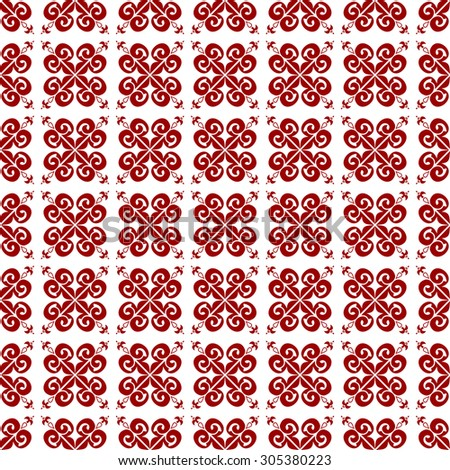 Illustration of Abstract Seamless Pattern - stock photo