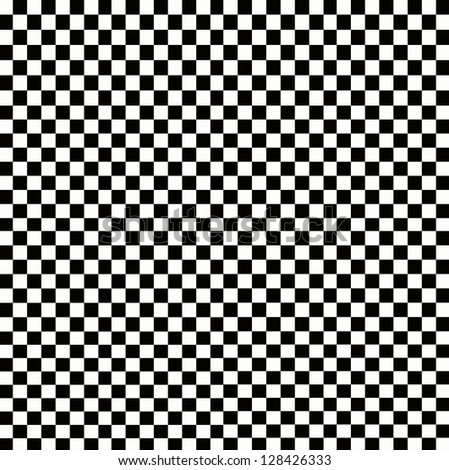 Illustration of grunge checker board, abstract background. - stock photo
