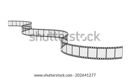 image of a nice film strip background  - stock photo