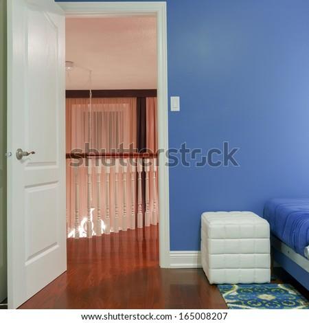 Interior design of Children's room - stock photo