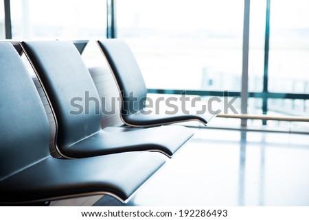 International Airport - stock photo
