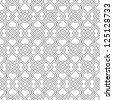 Islamic delicate pattern. Raster version - stock photo
