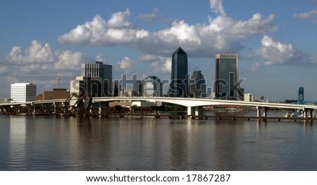 Jacksonville Skyline - stock photo