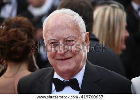 James Ivory attends the 'Money Monster' Premiere during the 69th annual Cannes Film Festival on May 12, 2016 in Cannes, France. - stock photo
