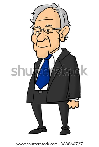 28 January, 2016: Bernie Sanders standing - stock photo